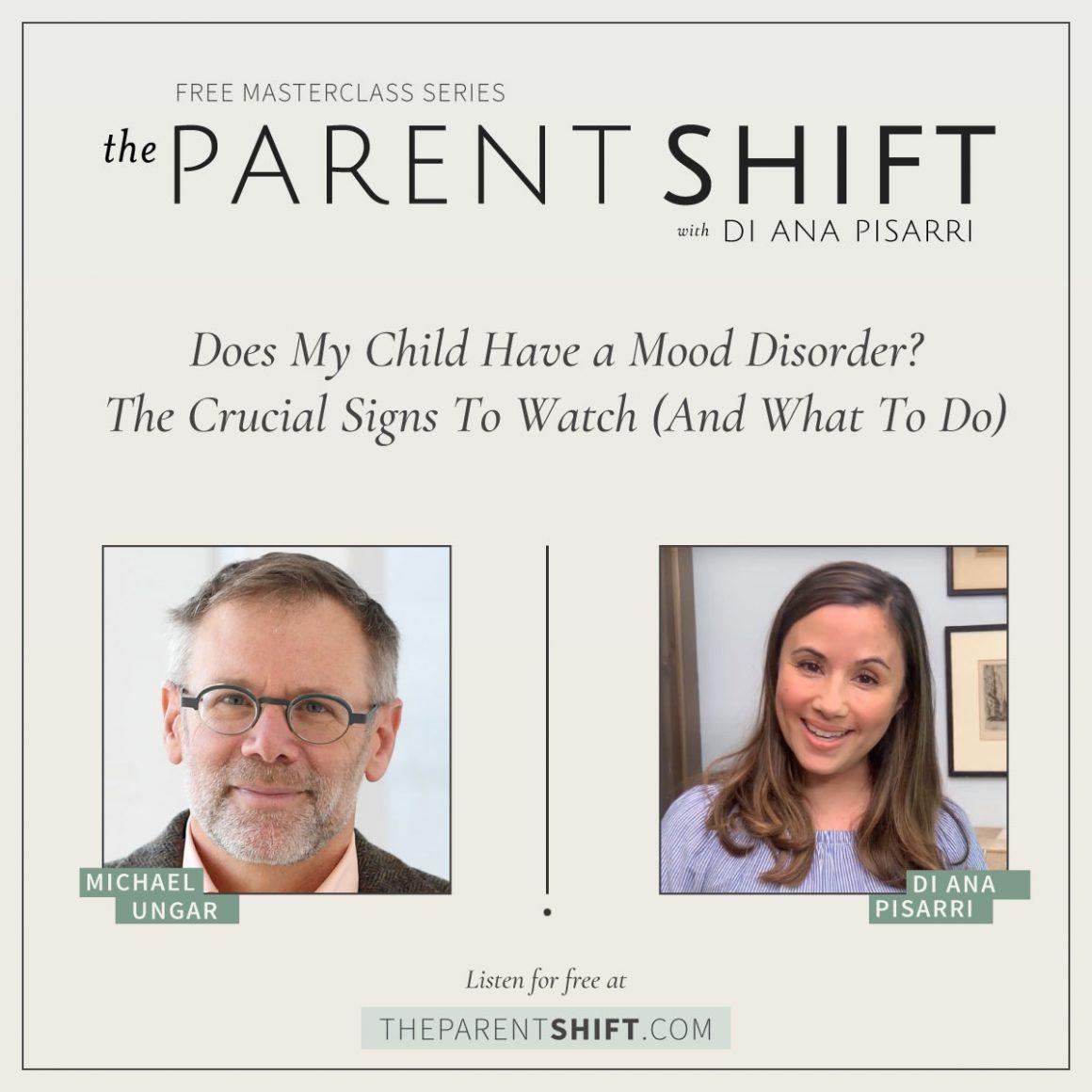 The Parent Shift: with Dr. Michael Ungar