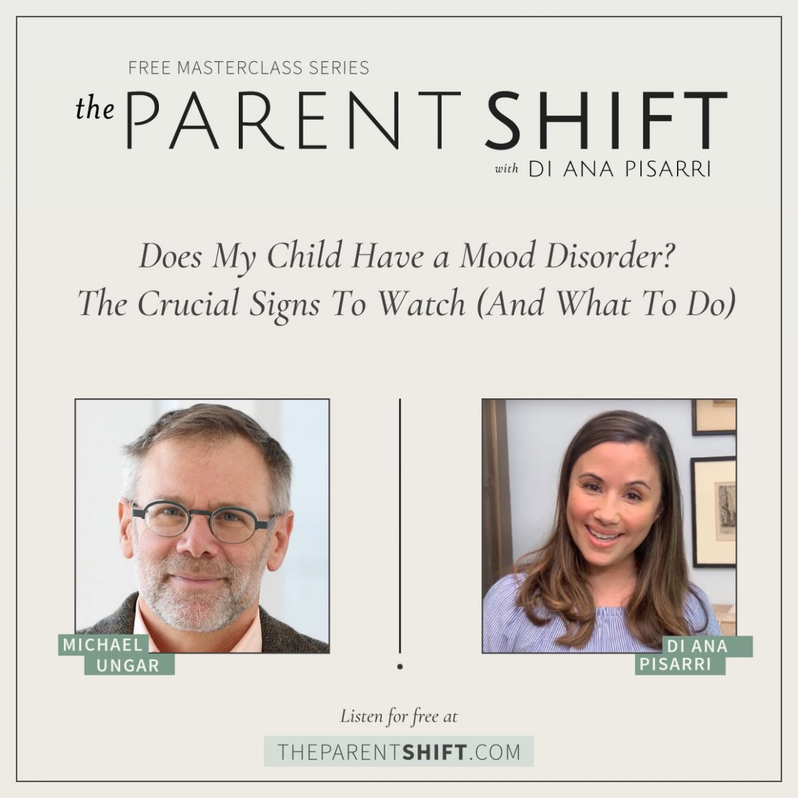 The Parent Shift: with Dr. Michael Ungar